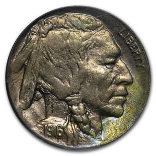 1916-D Buffalo Nickel AU