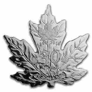 2018 Canada 1 oz Silver $20 30th Anniv of the Silver