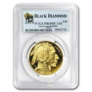2013-W 1 oz Proof Gold Buffalo PR-69 PCGS (Black