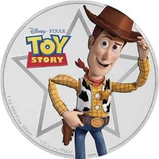 2018 Niue 1 oz Silver $2 Disney Pixar Toy Story: