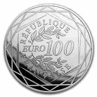 2018 France Silver '¬100 Marianne Proof (Face Value