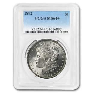 1892 Morgan Dollar MS-64+ PCGS