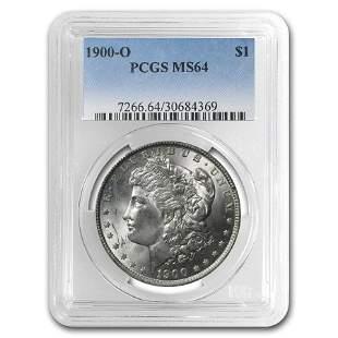 1900-O Morgan Dollar MS-64 PCGS