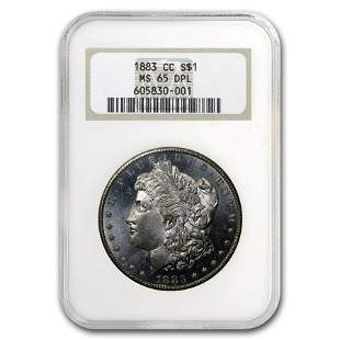 1883-CC Morgan Dollar MS-65 DPL NGC