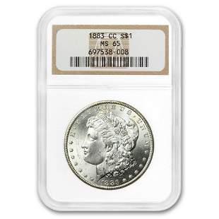 1883-CC Morgan Dollar MS-65 NGC