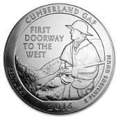 2016 5 oz Silver ATB Cumberland Gap National Historical