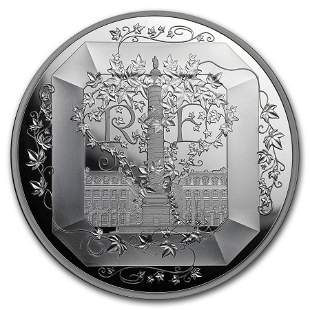 2018 France 5 oz Silver Excellence Series (Boucheron)