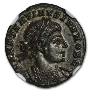 Roman Empire AE3/4 Emperor Constantine II (337-340 AD)