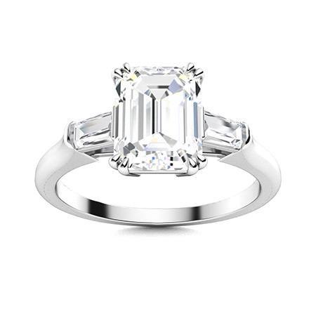 Natural 1.73 CTW Topaz & Diamond Engagement Ring 14K