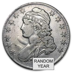 1808-1836 Capped Bust Half Dollars Avg Circ