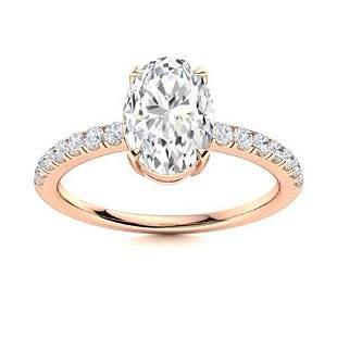 Natural 1.67 CTW Topaz & Diamond Engagement Ring 14K