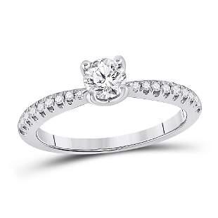 Diamond Solitaire Bridal Wedding Engagement Ring 3/4