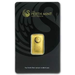 5 gram Gold Bar - The Perth Mint (In Assay)