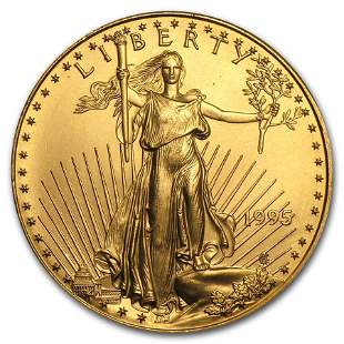 1995 1 oz Gold American Eagle BU