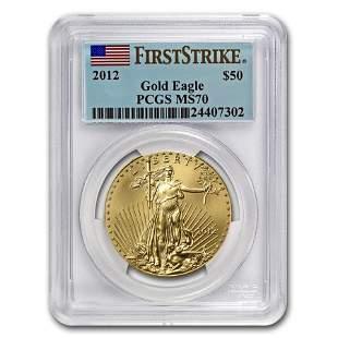 2012 1 oz Gold American Eagle MS-70 PCGS (FS)