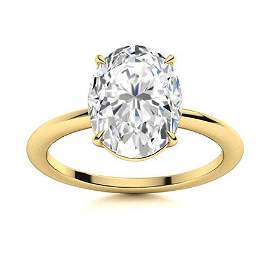 Natural 2.21 CTW Topaz Solitaire Ring 14K Yellow Gold