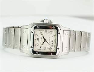Pre-Owned Cartier Santos Galbée 2319