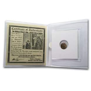 Widow's Mite In Standard Folder (103-76 BC)