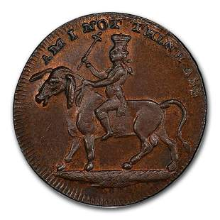 1795 Middlesex Spence's 1/2 Penny Conder Token MS-65+