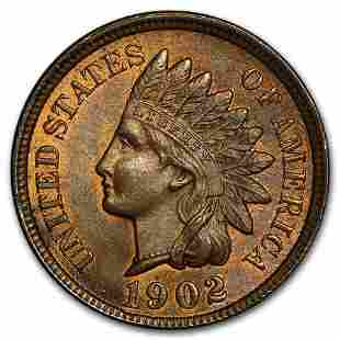 1902 Indian Head Cent BU (Red/Brown)