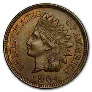 1904 Indian Head Cent BU (Red/Brown)
