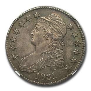 1831 Bust Half Dollar MS-65 NGC (O-109)