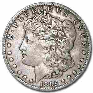 1885-O Morgan Dollar XF