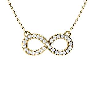 0.19 ctw Diamond Necklace 18K Yellow Gold