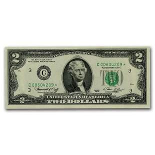 1976* (C-Philadelphia) $2.00 FRN CU (Fr#1935-C*) Star