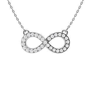 0.19 ctw Diamond Necklace 14K White Gold