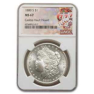 1880-S Morgan Dollar MS-67 NGC
