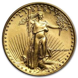 1986 1/10 oz American Gold Eagle BU (MCMLXXXVI)