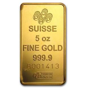 5 oz Gold Bar - Secondary Market