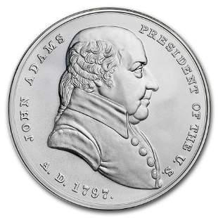 U.S. Mint Silver John Adams Presidential Medal