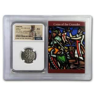 Kingdom of Armenia AR Tram Levon I (1198-1219 AD) AU