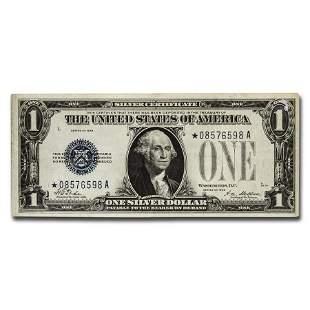 1928 thru 1928-B* $1.00 Silver Certificates VF (Star