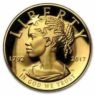 2017-W High Relief American Liberty Gold Proof (w/Box