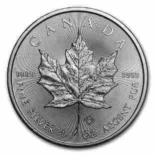 2018 Canada 1 oz Silver Maple Leaf BU