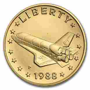 1998-P Gold Medal America in Space Young Astronaut