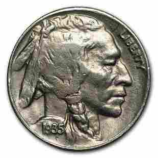 1935-D Buffalo Nickel AU