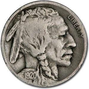 1920-D Buffalo Nickel Fine