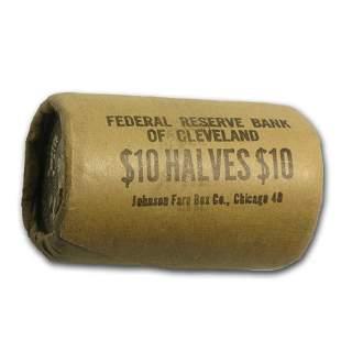 90% Silver 1964 Kennedy Half Dollar 20-Coin Bank