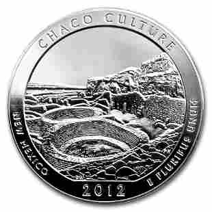 2012 5 oz Silver ATB Chaco Culture National Park, NM