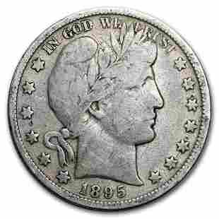 1895 Barber Half Dollar VG