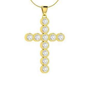 1.03 ctw Diamond Necklace 14K Yellow Gold