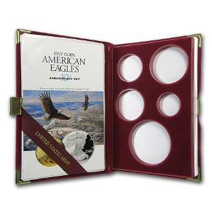 OGP Box & COA - 1996 10th Anniversary 5-Coin Proof