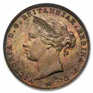 1877-H Jersey Bronze 1/24 Shilling PF-65 NGC (R/B)