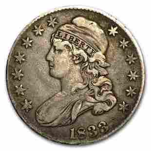 1833 Bust Half Dollar XF