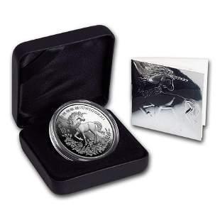 1994 China 1 oz Silver 10 Yuan Unicorn BU (w/Box & COA)