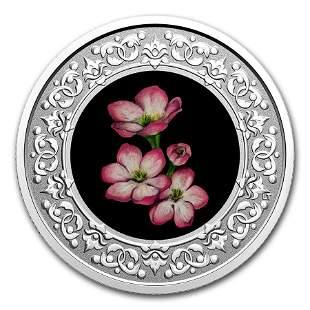 2020 RCM 1/4 oz Ag $3 Floral Emblems - Nova Scotia